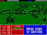 Operation Thunderbolt ZX Spectrum Level 3 sees you in a jeep