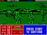 Operation Thunderbolt ZX Spectrum Planes fire missiles at you