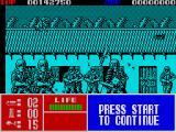 Operation Thunderbolt ZX Spectrum Enemies throw knives at you