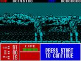 Operation Thunderbolt ZX Spectrum The enemy attack at sea