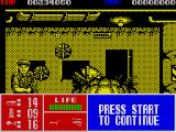 Operation Thunderbolt ZX Spectrum This boss fires a barrage of missiles at you