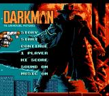 Darkman NES Title screen