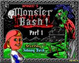 Monster Bash Windows The title screen for episode one
