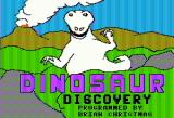 Dinosaur Discovery Apple II Title screen
