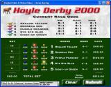 Hoyle Slots & Video Poker Windows Placing bets for the horse race game