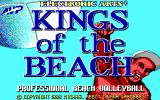 Kings of the Beach DOS Title