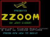 Zzoom ZX Spectrum Title screen