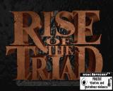 Rise of the Triad: Dark War Windows Title screen with parental warning about violence