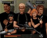 Rise of the Triad: Dark War Windows Loading screen for episode one, area one of The HUNT Begins.