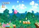 Kirby's Return to Dream Land Wii ...OR by himself. Just like Son Goku.