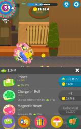 Tap My Katamari Android Level for the prince and additional abilities that are unlocked gradually.