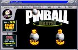 Pinball Master Windows This is the game browser through which the player selects their table