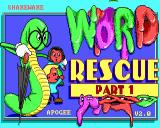 Word Rescue Windows Title screen for episode one