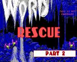 Word Rescue Windows Title screen for episode two