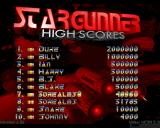 Stargunner Windows The high scores