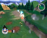 Dragon Ball Z: Sagas GameCube Flying with the speed of light (not really. AT ALL.)