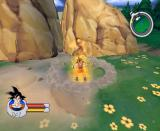 Dragon Ball Z: Sagas GameCube Charging that ki up.