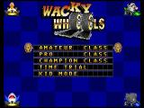 Wacky Wheels Macintosh Race type selection (GOG version)