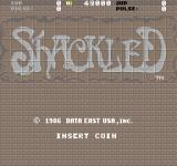 Shackled Arcade Title screen