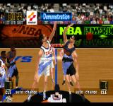NBA in the Zone '98 PlayStation Demonstration.