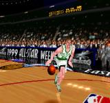 NBA in the Zone '99 PlayStation Dunk contest mode!