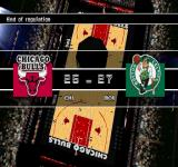 NBA in the Zone 2000 PlayStation End of regulation...