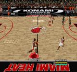 NBA in the Zone 2000 PlayStation Miami Heat vs Detroit Pistons.