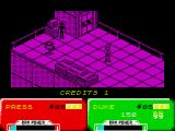 Escape from the Planet of the Robot Monsters ZX Spectrum The starting location