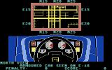 Turbo Esprit Commodore 64 City map view