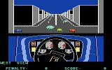 Turbo Esprit Commodore 64 Approaching an intersection