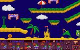 Lemmings 2: The Tribes DOS The Beach