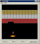 Great Walls Windows 3.x The game plays in a small window