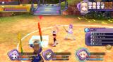 Hyperdimension Neptunia: Re;Birth1 Windows Flowers as typical enemies in an arena