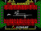 Life Force ZX Spectrum Numerous enemies attacking...