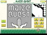 Maize Quest Windows The star tof a game. Quite a maze isn't it!