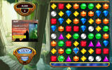 Bejeweled: Classic Android Sometimes advertisements appear on the left side.