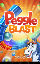 Peggle: Blast Android Title screen