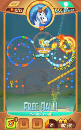 Peggle: Blast Android Another large combo