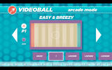VIDEOBALL Windows The first level in the local arcade mode