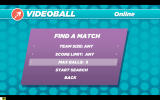 VIDEOBALL Windows Filters for online multiplayer matches