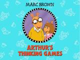 Arthur's Thinking Games Windows Title Screen