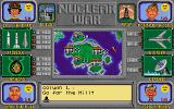Nuclear War DOS Gameplay