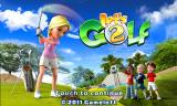 Let's Golf! 2 Android Title screen