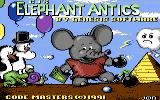 CJ's Elephant Antics Commodore 64 Loading screen