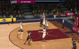 NBA Live: Mobile Android The arrows show when blocking can be executed (Dutch version).