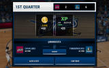 NBA Live: Mobile Android Rewards after completing the 1st quarter