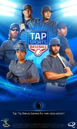 Tap Sports Baseball Android Title screen