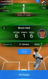 Tap Sports Baseball 2015 Android Steal option