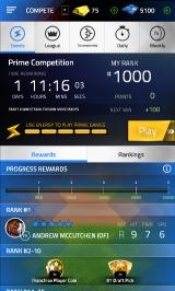 Tap Sports Baseball 2015 Android Compete menu