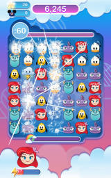Disney Emoji Blitz Android A match in progress